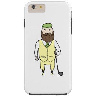 ゴルフクラブの紳士 TOUGH iPhone 6 PLUS ケース