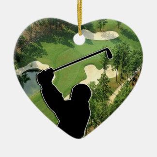 ゴルフコース セラミックオーナメント