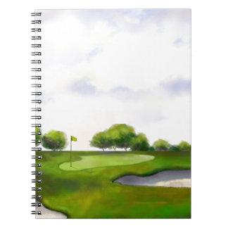 ゴルフコース ノートブック