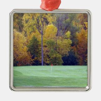 ゴルフコース メタルオーナメント