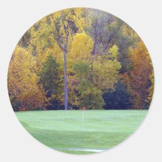 ゴルフコース ラウンドシール