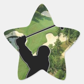 ゴルフコース 星シール