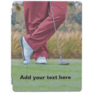ゴルフティーの時間カスタマイズ可能な文字 iPadスマートカバー