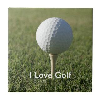 ゴルフテーマのセラミックタイル4 タイル