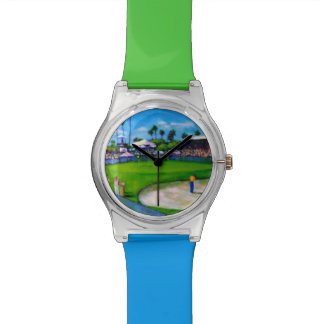 ゴルフテーマの5月28日の腕時計 腕時計