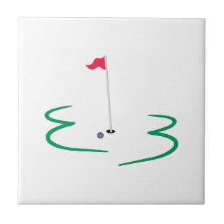 ゴルフデザイン タイル