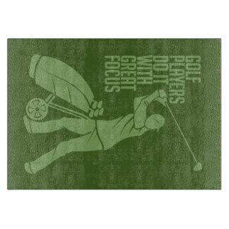 ゴルフプレーヤーのカスタムなまな板