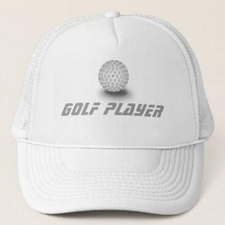 ゴルフプレーヤー キャップ