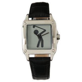 ゴルフプレーヤー 腕時計