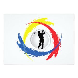 ゴルフ三色の紋章 カード