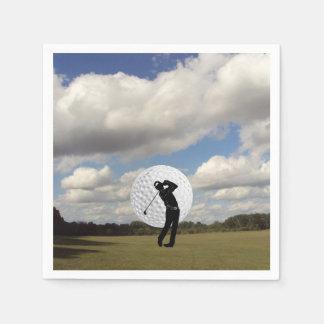 ゴルフ世界 スタンダードカクテルナプキン