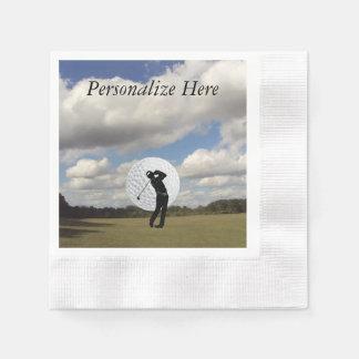ゴルフ世界 縁ありカクテルナプキン