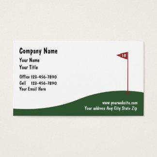 ゴルフ名刺 名刺