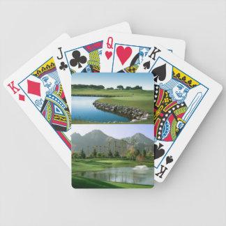 ゴルフ場面カード・デッキ バイスクルトランプ