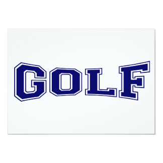 ゴルフ大学スタイル カード