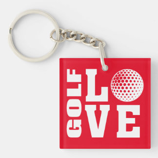 ゴルフ愛 キーホルダー
