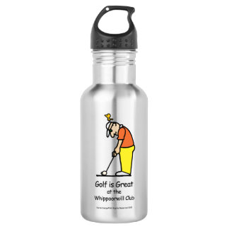 ゴルフ挨拶の水差しの銀 ウォーターボトル