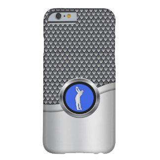 ゴルフ振動スポーティな金属一見 BARELY THERE iPhone 6 ケース