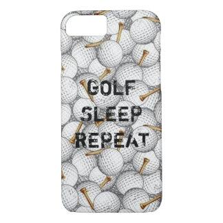 ゴルフ睡眠の繰り返しのiPhoneの場合 iPhone 8/7ケース