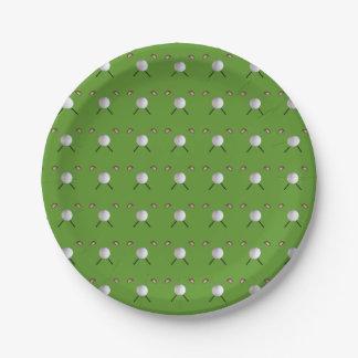 ゴルフ紙皿 ペーパープレート