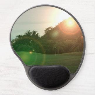 ゴルフ緑 ジェルマウスパッド