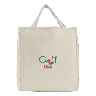 ゴルフ花型女性歌手 バッグ
