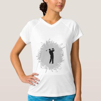 ゴルフ走り書きのスタイル Tシャツ