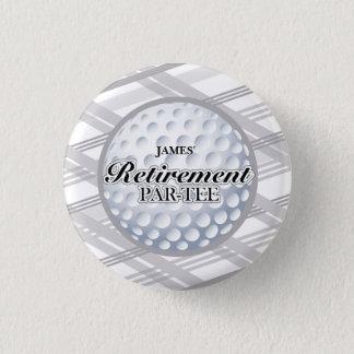 ゴルフ退職のパーティの記念品 3.2CM 丸型バッジ