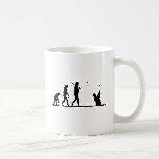 ゴルフ進化 コーヒーマグカップ