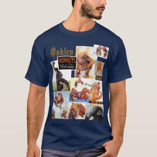 ゴルフ遠出猿 Tシャツ