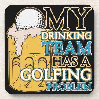 ゴルフ飲むチーム コースター