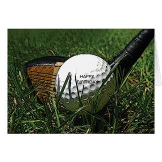 ゴルフ101挨拶状 カード