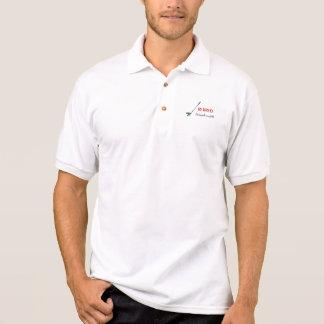 ゴルフ-、ゴルフを遊ぶことは仕事です退職したな ポロシャツ