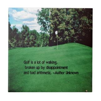 ゴルフ タイル