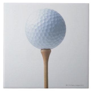 ゴルフ・ボールおよびティー タイル