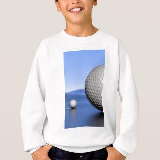 ゴルフ・ボールとの景色 スウェットシャツ