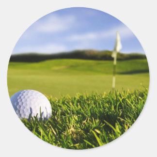ゴルフ・ボールのコース ラウンドシール