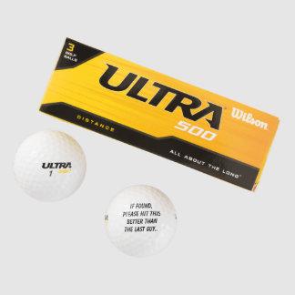 ゴルフ・ボールのゴルファーのギフトはパパの夫の父となります ゴルフボール