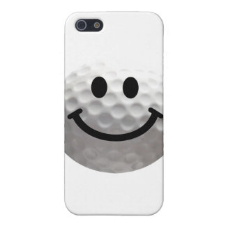ゴルフ・ボールのスマイリー iPhone 5 COVER