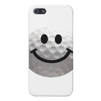 ゴルフ・ボールのスマイリー iPhone SE/5/5sケース