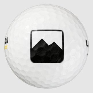 ゴルフ・ボールのテンプレート3パック ゴルフボール
