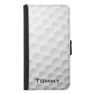 ゴルフ・ボールのデザインのウォレットケース GALAXY S5 ウォレットケース