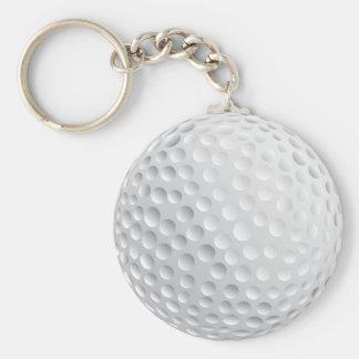 ゴルフ・ボールのデザイン キーホルダー