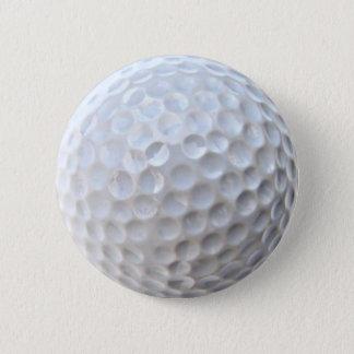 ゴルフ・ボールのバッジPinボタン 5.7cm 丸型バッジ