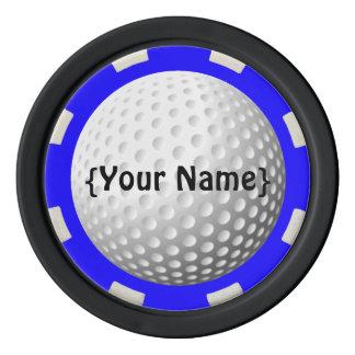 ゴルフ・ボールの監視人のポーカー用のチップ ポーカーチップ
