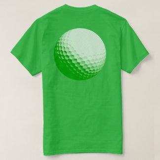 ゴルフ・ボールの緑 Tシャツ