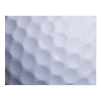 ゴルフ・ボールの背景によってカスタマイズテンプレート ポストカード