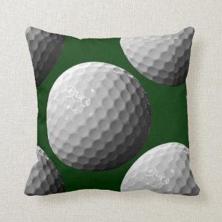 ゴルフ・ボールの装飾用クッションを遊ばします クッション