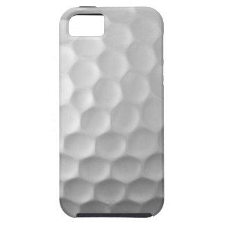 ゴルフ・ボールのiPhone 5sケースの白いゴルフボールパターン iPhone SE/5/5s ケース