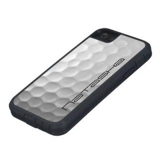 ゴルフ・ボールは名前入りな質パターンに窪みを作ります iPhone 5 CASE